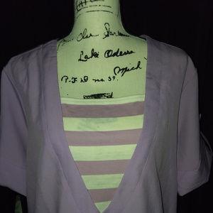 EUC Blair Women's Lavender Top Size Xl